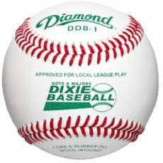 Diamond DDB1 Dixie Boys & Majors Competition Grade Baseball, dz