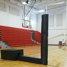 Bison QwickCourt Match Point Portable Volleyball Net System