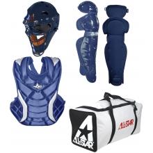 All Star Fastpitch Softball Catcher's Gear Kit, AGE 9-12