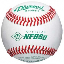 Diamond D1-NFHS NFHS Game Baseballs, dz