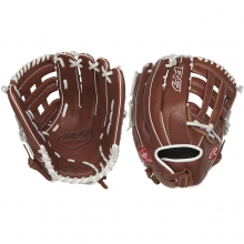 "Rawlings 13"" R9 Fastpitch Softball Glove, R9SB130-6DB-3/0"