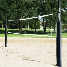 First Team Sand Blast Complete Outdoor Sand Volleyball Net System W/ GROUND SLEEVES