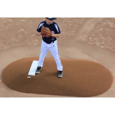 "Portolite 6""Hx8'11""Lx5'W Game Mound, Clay"