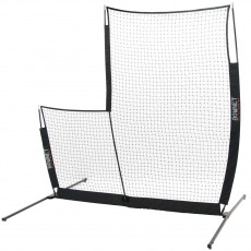 BOWNET L-Screen Elite 8' x 8' Pop Up Pitching Screen