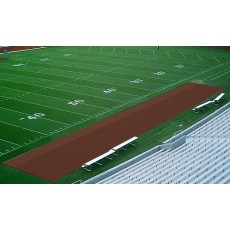 Aer-Flo Bench Zone Sideline Turf Protector, 15' x 125'