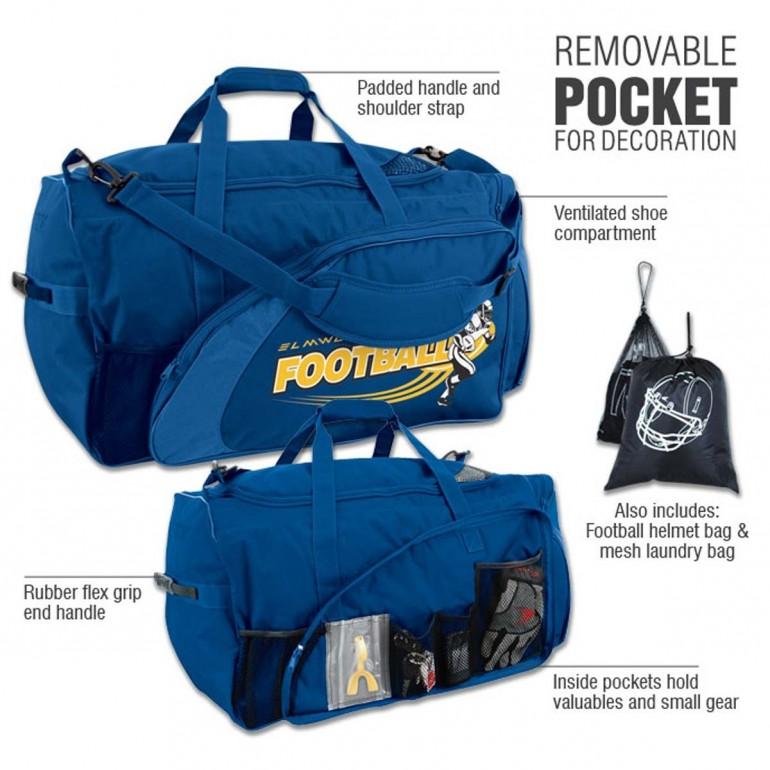 Football Equipment Sports Bag