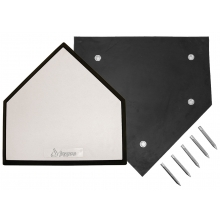 Jaypro Home Plate w/ Spikes, HP-50