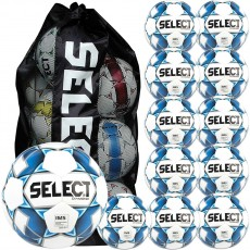 Select 12pk Diamond Practice Soccer Ball Package w/ Bag