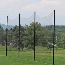 Kwik Goal 14'Hx65'L Multi-Sport Backstop Netting System, 7E101