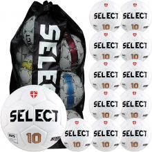 Select 12pk Numero 10 Practice Soccer Ball Package w/ Bag