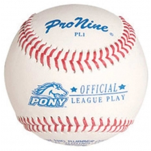 Pro Nine PL1 Official Pony League Baseballs, dz