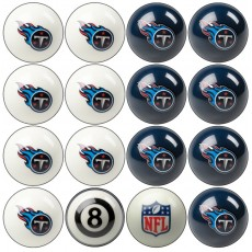 Tennessee Titans NFL Home vs Away Billiard Ball Set
