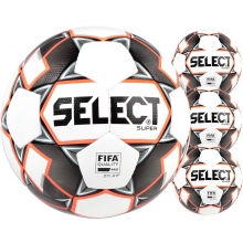 Select 4pk Super FIFA NJCAA Match Soccer Ball Package