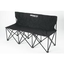 Kwik Goal 3 Seat Folding Soccer Bench, 9B903