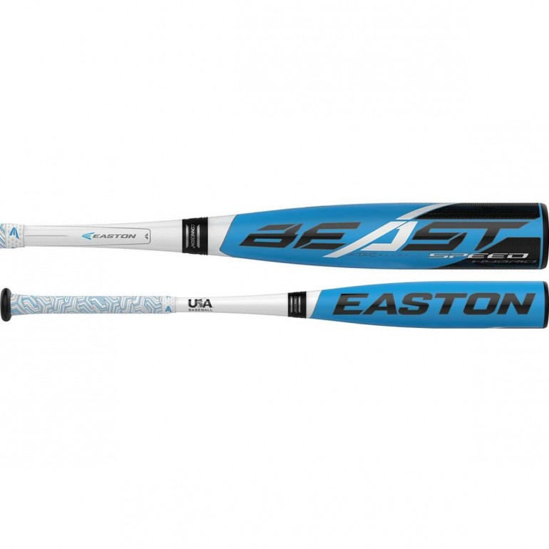 2019 Easton Beast Speed Hybrid -10 (2-5/8) USA Baseball Bat, YBB19BSH10