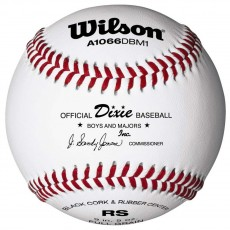 Wilson A1066DBM1 Dixie Boys/Major League Baseballs, dz