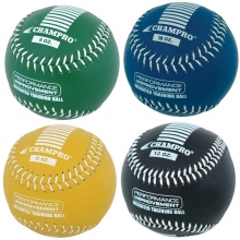 "Champro 12"" Weighted Leather Softball Training Set, CSB75"