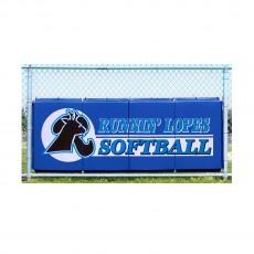 Cover Sports 3'H x 8'L Baseball/Softball Backstop Padding w/Graphics