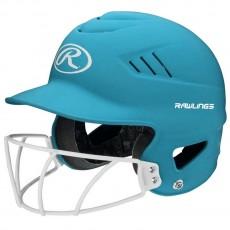 Rawlings Coolflo Fastpitch Highlighter Softball Batting Helmet, RCFHLFG