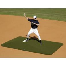 """Proper Pitch 417004 Game Baseball Mound, 10""""H x 8'3""""W x 11'6""""L, Green"""