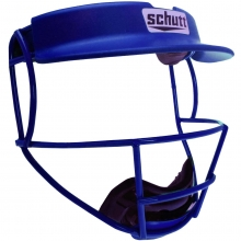Schutt V1/V2 TITANIUM Softball Fielders Face Guard w/Visor
