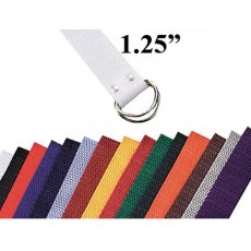 "1.25"" x 60"" Web Football Belts, PWL"