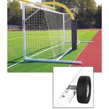 Kwik Goal Fusion 120 8'x24' Soccer Goal w/ Wheels, 2B3906