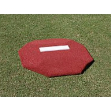 "Proper Pitch 419006 Portable Youth Baseball Training Mound, 3'6""W x 3'6""L x 4""H, Clay"