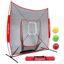 POWERNET 7' x 7' DLX 2.0 Pop Up Hitting Net System