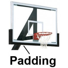 Bison Outdoor Basketball Backboard Edge Padding, BA72U-BLK