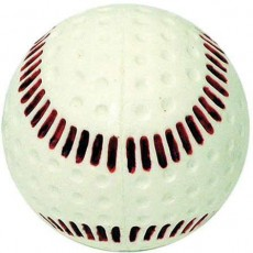 Baden PBBRS Dimpled Machine Baseball, White with Red Seam, dz