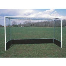GOAL OFH2 Official Field Hockey Goals w/  Steel Bottom Boards (pair)