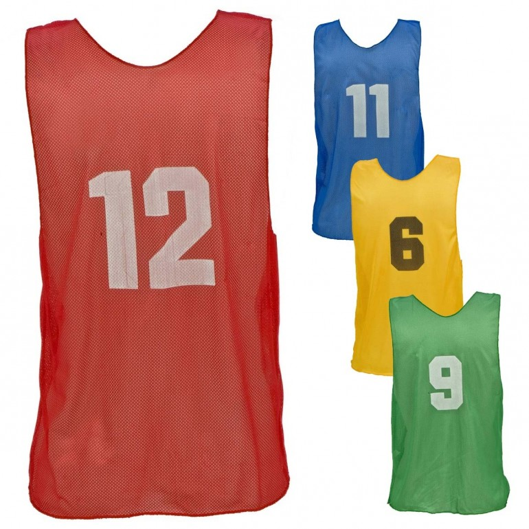 aa9d6b66f Champion ADULT Numbered Scrimmage Vest Pinnies, PSAN - A60-813