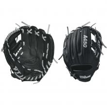 "Wilson 10.75"" Youth Dustin Pedroia Model Advisory Staff Baseball Glove"