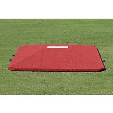 "Proper Pitch 8'3""Wx11'6""Lx10""H Game Baseball Mound, Clay"