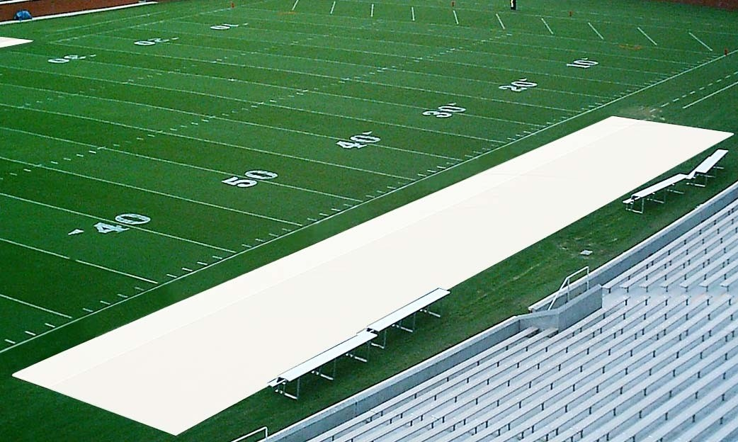 Aer Flo Bench Zone Sideline Turf Protector 15 X 50