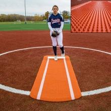 Portolite Spiked Softball Pitching Mat