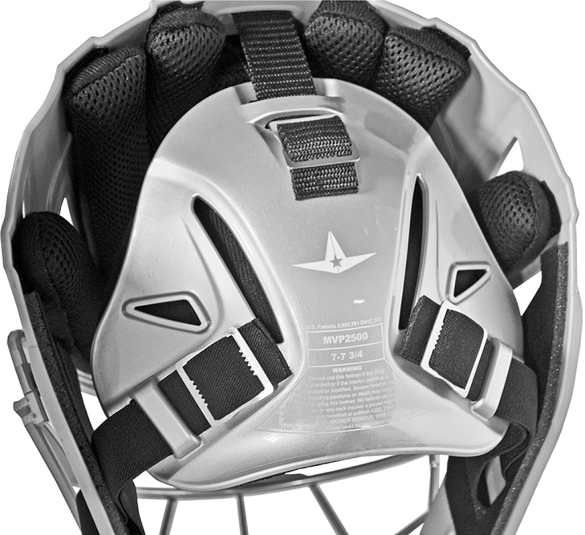 All Star Mvp2510 System 7 Catcher S Helmet Youth A34