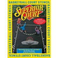 Superior Court Basketball Court Stencil