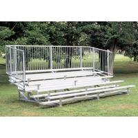 5 Row, 27' PREFERRED Aluminum Bleacher w/ Vertical Rail