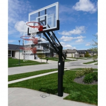 Bison HangTime Adjustable Basketball Hoop