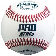 Spalding Pro NFHS Baseballs, 41-100HS, dz w/NOCSAE Stamp