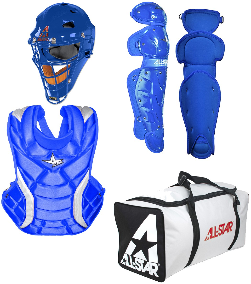 All Star CKW14.5PS Fastpitch Softball Catcher s Gear Kit, ADULT 81ecbc12d9