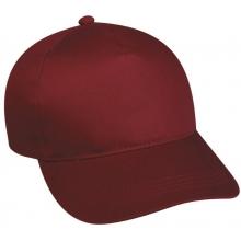 Outdoor Cap 5-Panel Baseball Cap w/ Plastic Snap Closure, ADULT