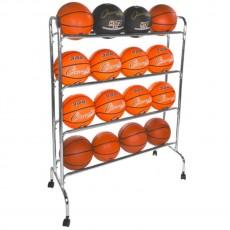 Champion 16 ball Wide Base Basketball Ball Rack, BRC4