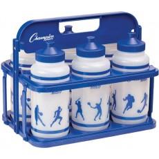 Champion Team Water Bottle & Carrier Set, CWBWXSET