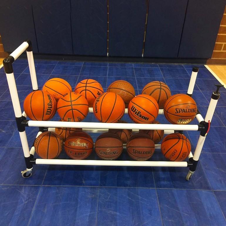 20 Ball Rack Shown