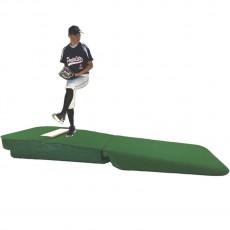 Portolite 10' Outdoor/Indoor Practice Pitching Mound, Green