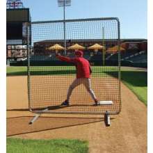First Base / Fungo Protective Frame & Net, 7' x 7'
