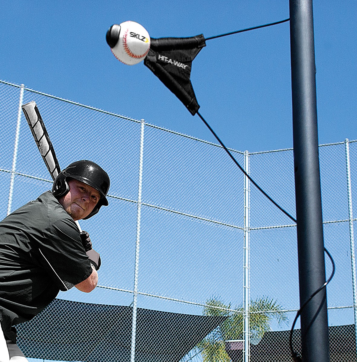 Sklz Hit A Way High Repetition Baseball Solo Batting